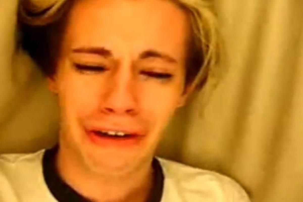 Cris Crocker se hizo famoso cuando defendió a Britney Spears. Foto:vía Youtube. Imagen Por: