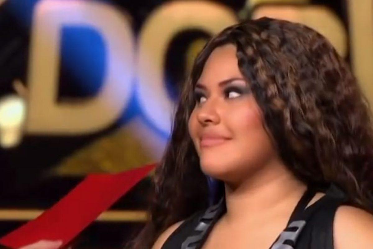 Fue la primera eliminada de la competencia. Foto:vía Tv Azteca. Imagen Por: