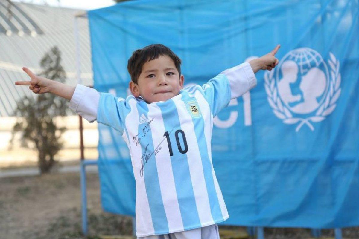 Murtaza Ahmandi es el niño más feliz del mundo Foto:facebook.com/afghanistanunicef/. Imagen Por: