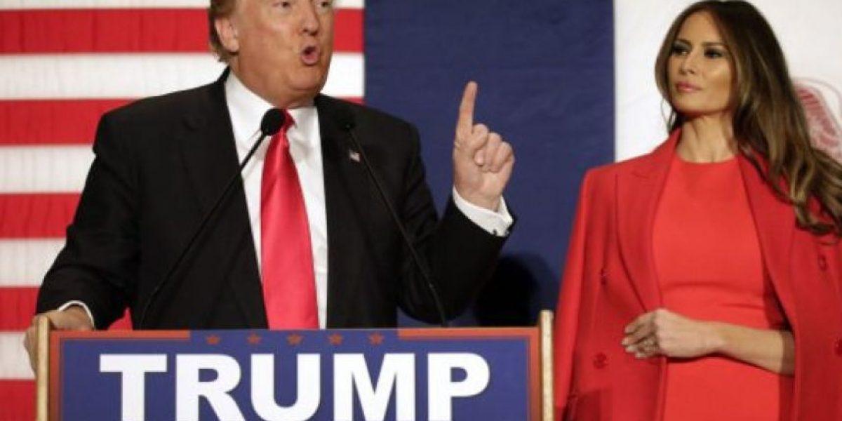 La mujer de Trump es inmigrante y apoya el mensaje xenófobo de su marido