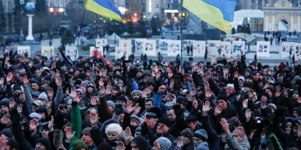 A dos años de las protestas de Kiev, Ucrania reclama por promesas incumplidas