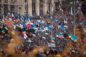 El Euromaidán. Foto:Efe. Imagen Por: