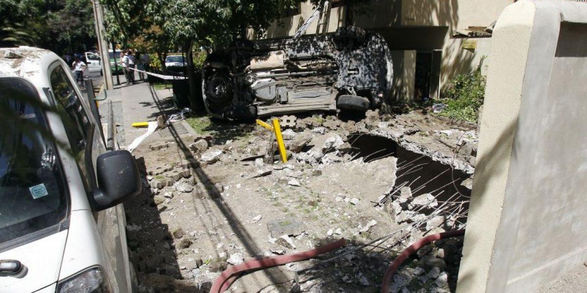 Explosión de gas en Las Condes fue causada por un balón de gas