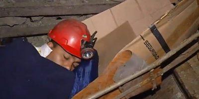 Curanilahue: mineros llevan dos días protestando a 320 metros bajo tierra