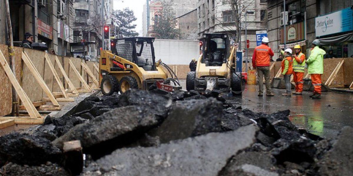 Céntrico eje de Santiago se transforma en vía exclusiva desde el próximo 1 de marzo