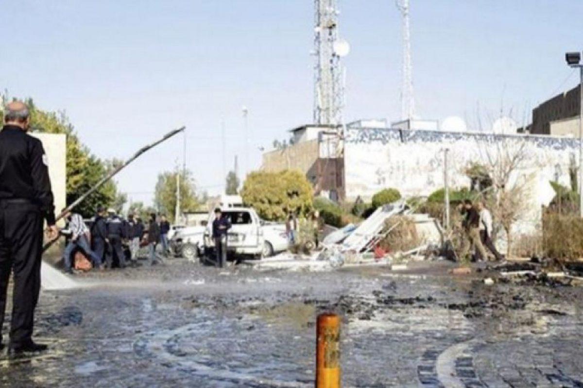 Referencial atentado Bagdad Foto:Archivo EFE. Imagen Por: