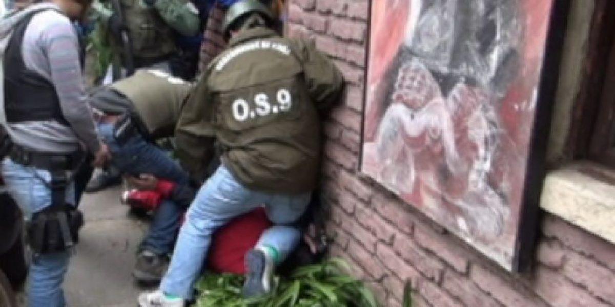605 detenidos dejó mega operativo realizado esta madrugada por Carabineros