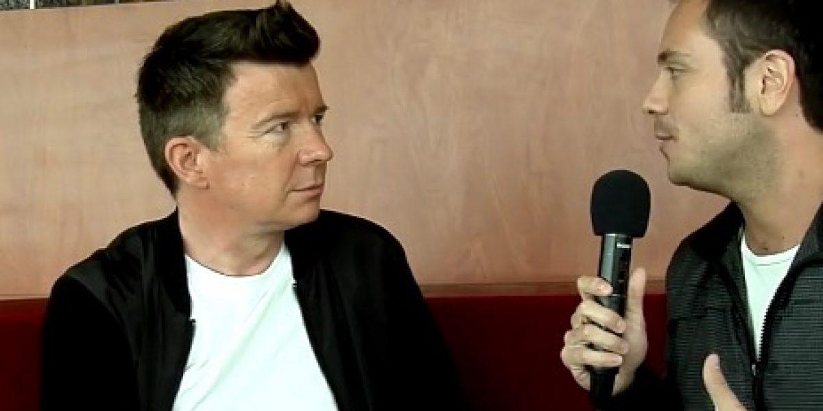Rick Astley conversó con PublimetroTV y anticipó su presentación en Viña 2016