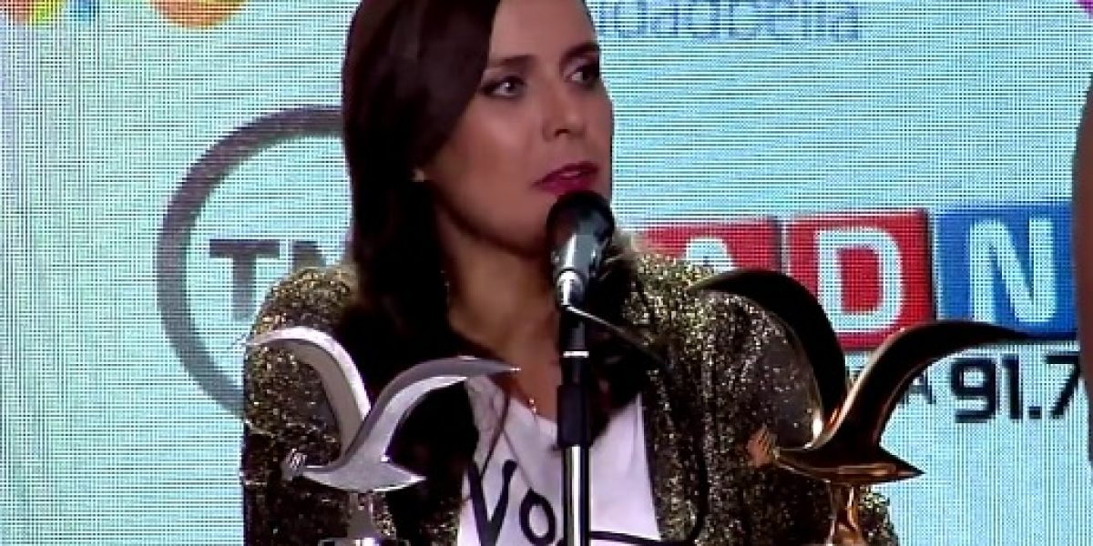 Natalia Valdebenito tras su triunfo en Viña 2016: