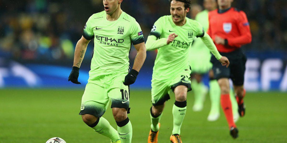 Sin chilenos: Messi y Agüero comandan el once de la semana de la Champions League