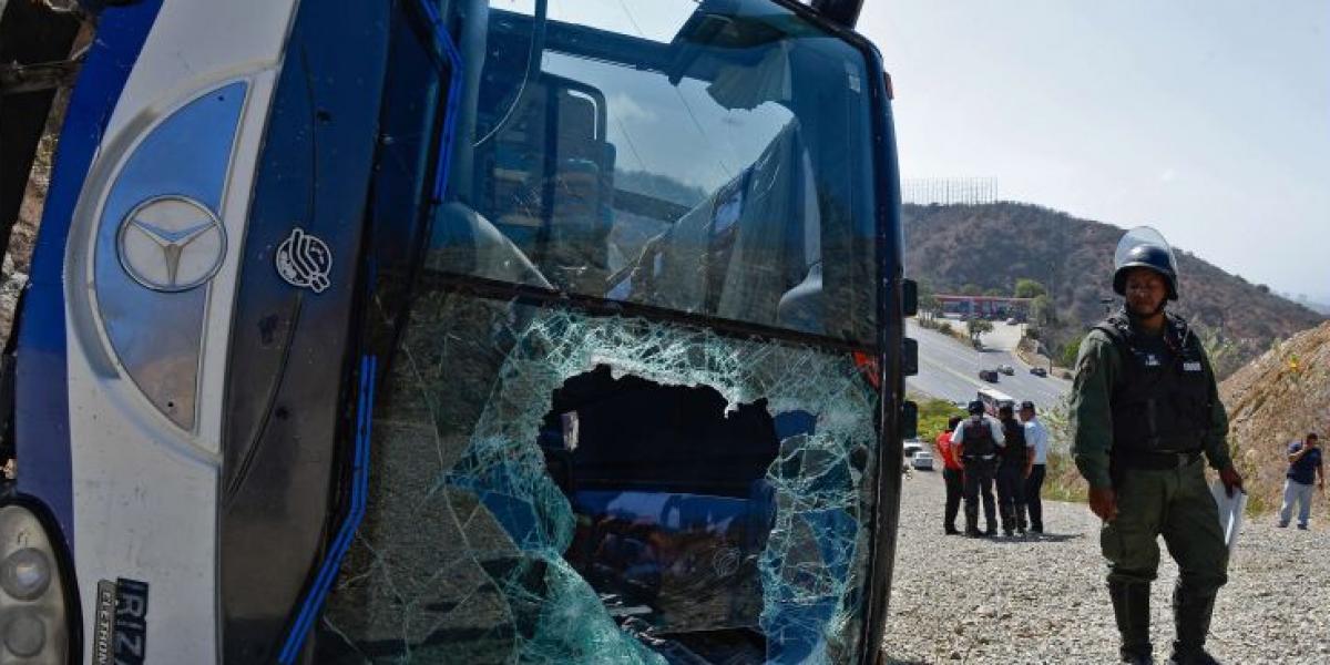 Se filtra el video que muestra el momento del accidente que sufrió el plantel de Huracán