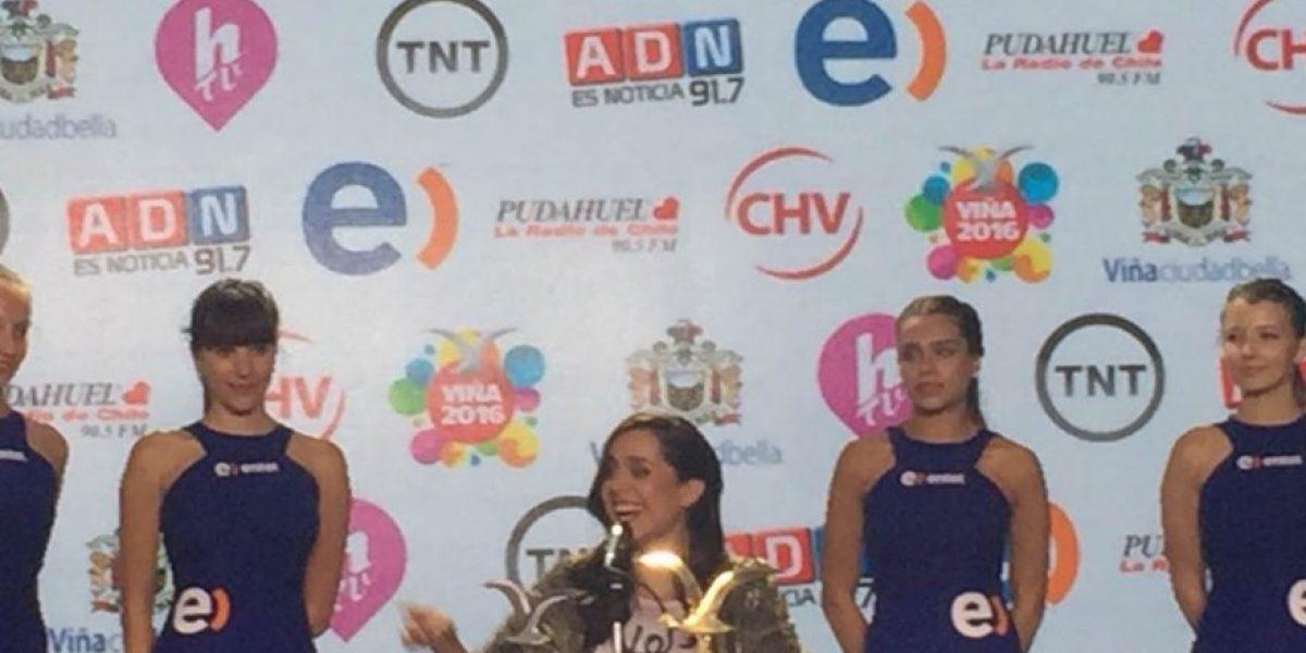Natalia Valdebenito y su éxito en Viña 2016:
