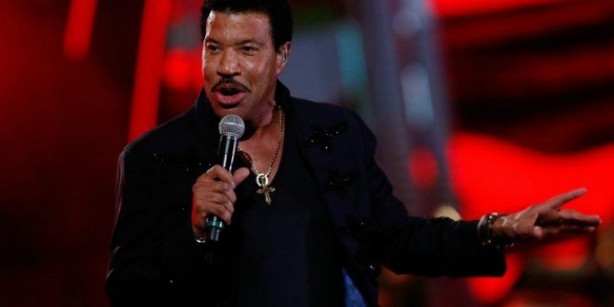 Lionel Richie debuta en el escenario de la Quinta Vergara