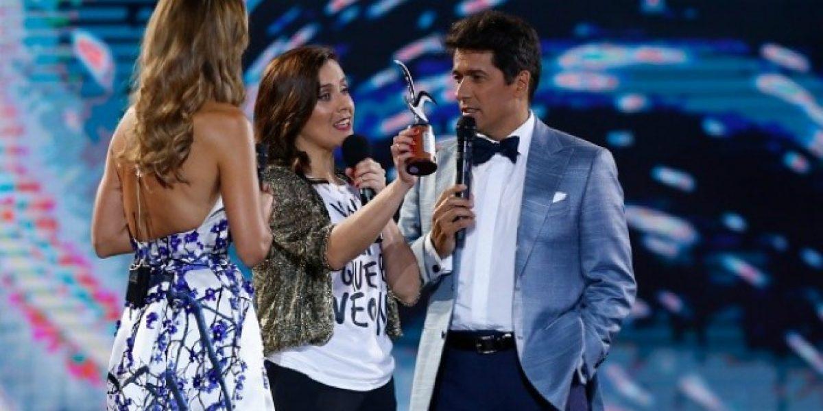 ¡Gaviota de plata! La Quinta Vergara premió a Natalia Valdebenito en Viña 2016