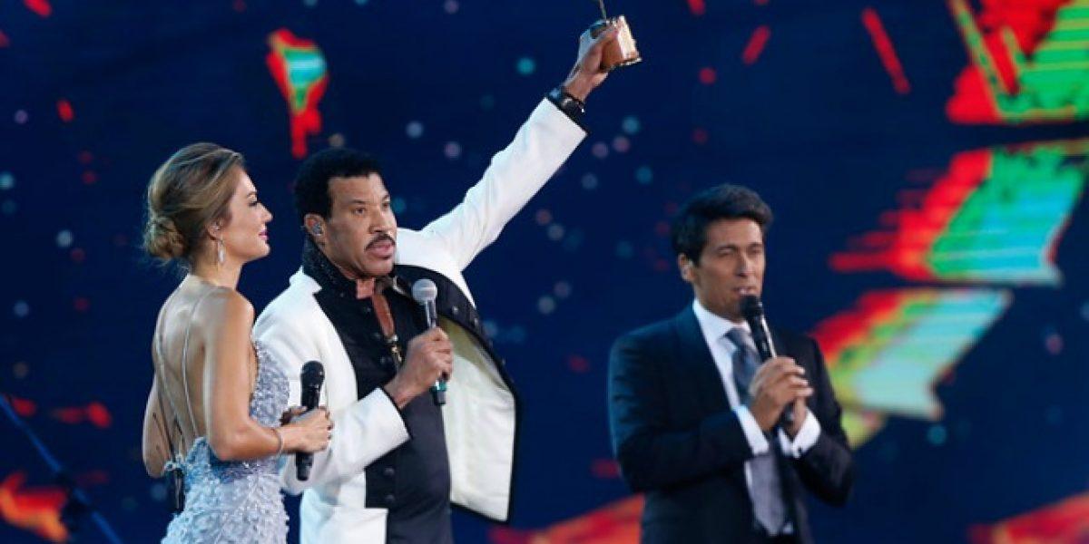 La Quinta Vergara se rinde ante Lionel Richie: ¡Hay Gaviota de Oro!