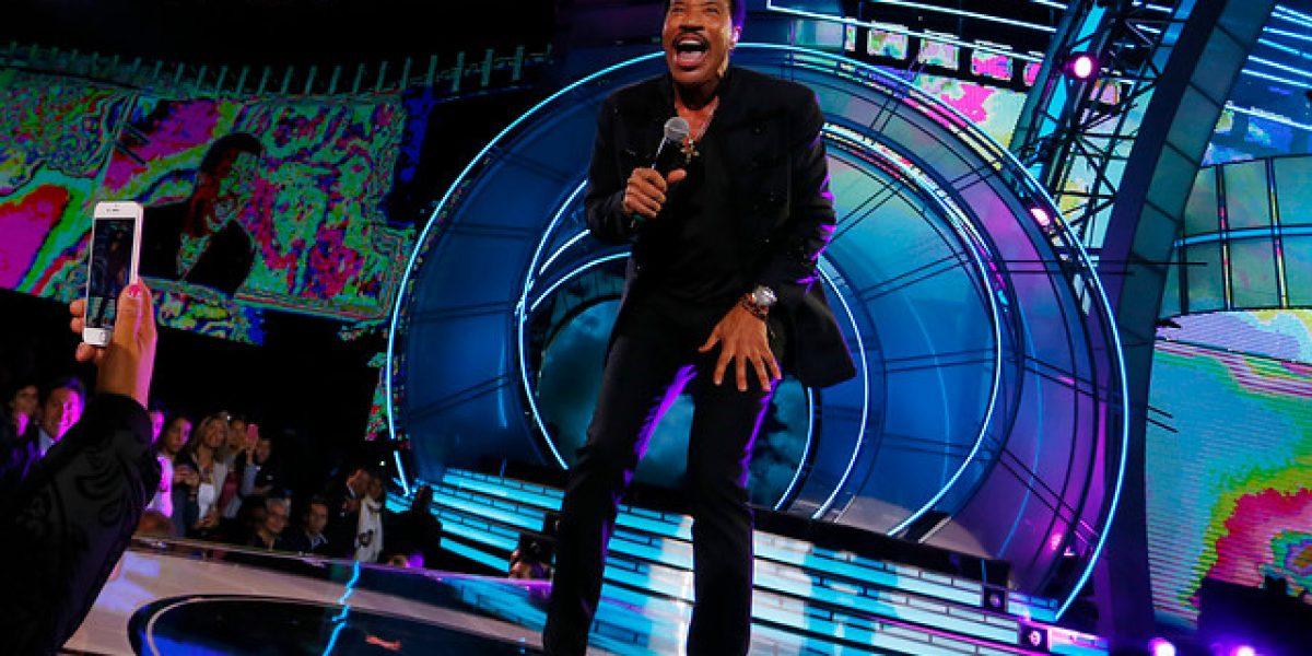 Estas son las mejores postales del debut de Lionel Richie en Viña 2016