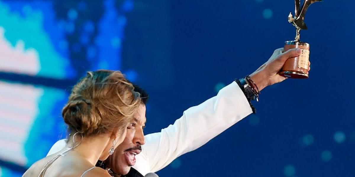 Lionel Richie enamoró al