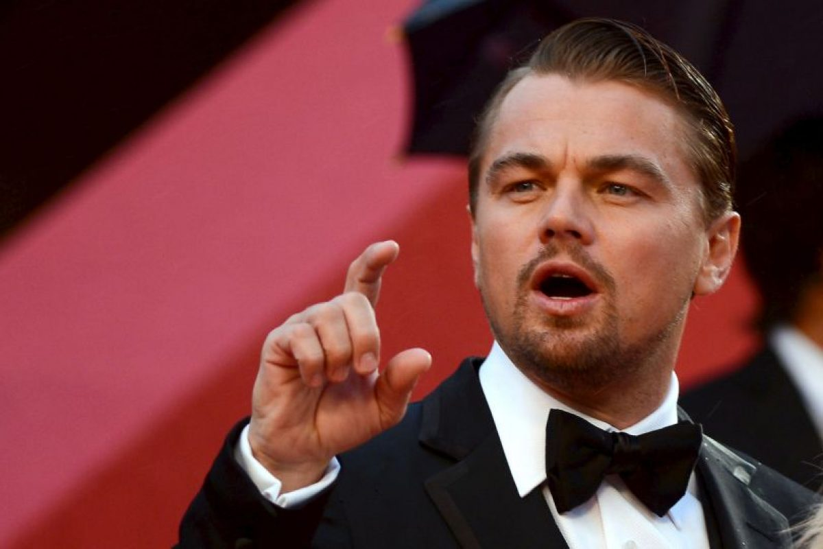 """Lo ganó en tres ocasiones por: """"El aviador"""", """"El lobo de Wall Street"""" y """"El Renacido"""" Foto:Getty Images. Imagen Por:"""