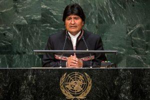 Juan Evo Morales Ayma fue elegido en 2005 como sexagésimo quinto presidente de Bolivia. Foto:Getty Images. Imagen Por: