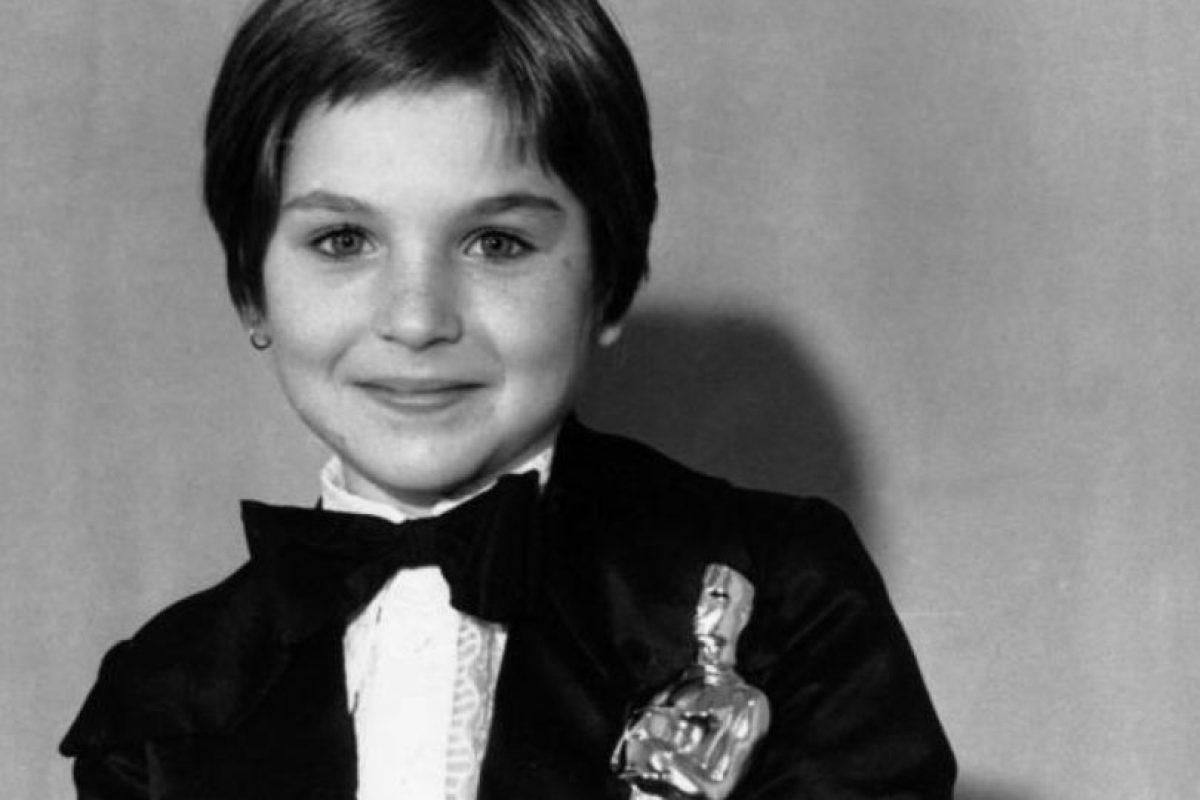 Tatum O' Neal ganó el Oscar a los 10 años. Foto:vía Getty Images. Imagen Por: