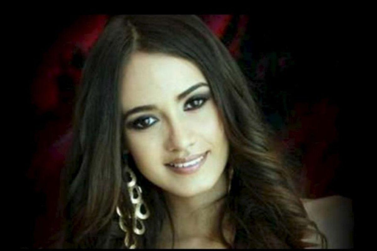 reina de belleza en Sinaloa, México, en 2012. Murió en un enfrentamiento entre el ejército y un grupo armado. Foto:Facebook. Imagen Por: