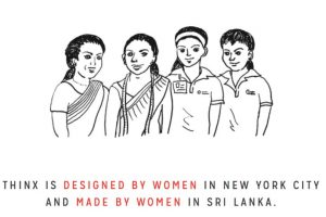 """Su CEO, Miki Agrawal, le contó a Forbes que quiere """"cambiar la cultura alrededor del periodo femenino y hacer sentir a las mujeres cómodas y libres con esta prenda"""". Foto:vía Thinx. Imagen Por:"""