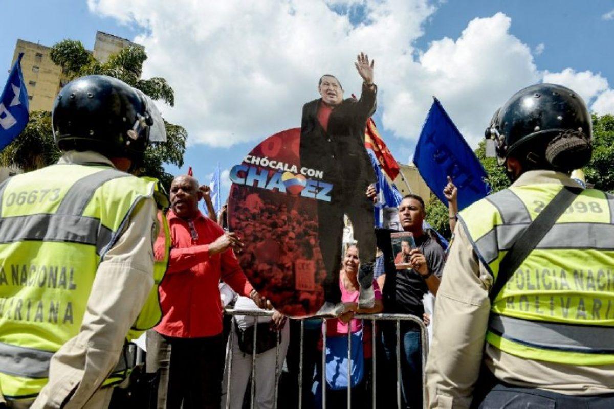 1. De acuerdo con la organización internacional Transparency International Venezuela es de las policías más corruptas en América Latina. Comparte posición y puntajes con Haití Foto:Getty Images. Imagen Por: