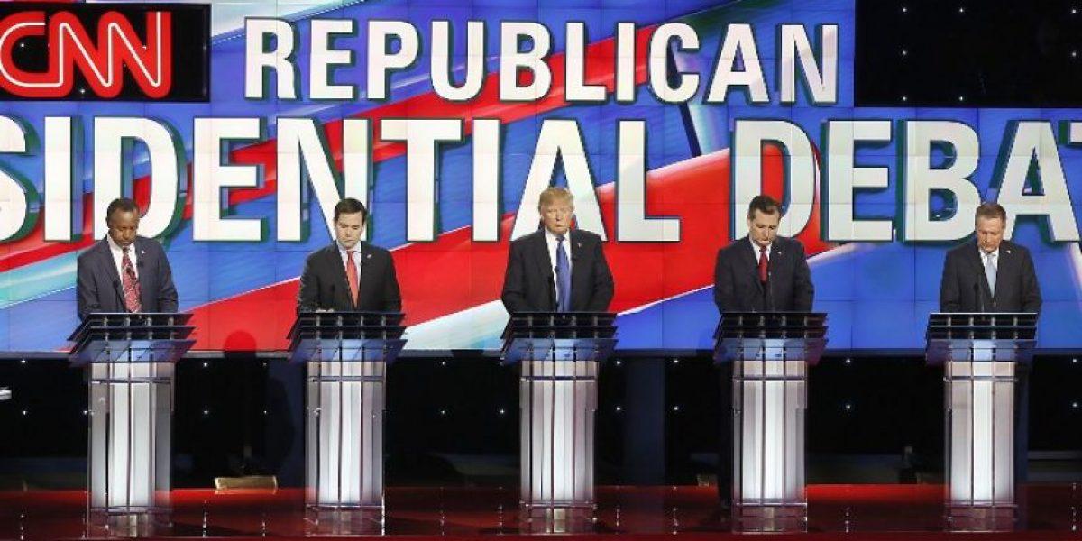 Rubio y Cruz se abalanzan sobre Trump en debate antes de crucial voto
