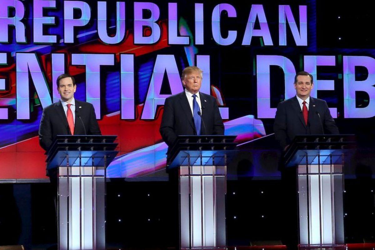 Precandidatos del Partido Republicano Foto:AFP. Imagen Por:
