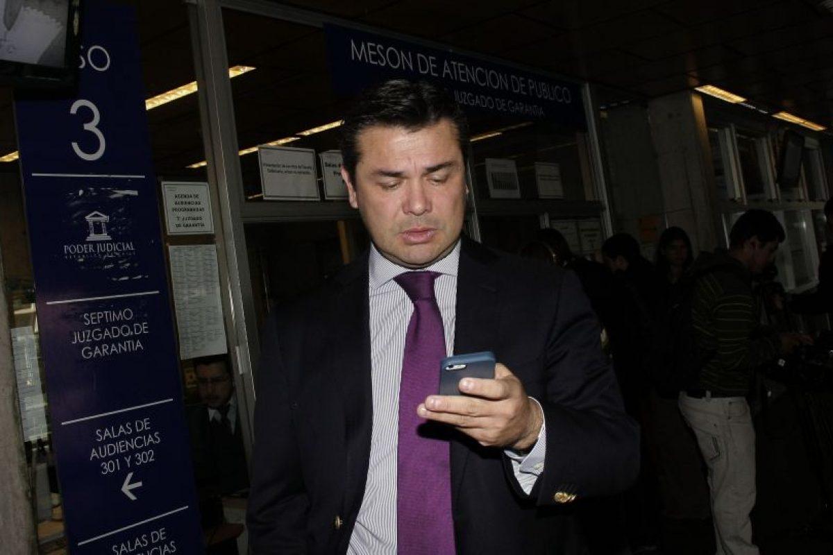 Abogado Raúl Meza Foto:Agencia Uno. Imagen Por: