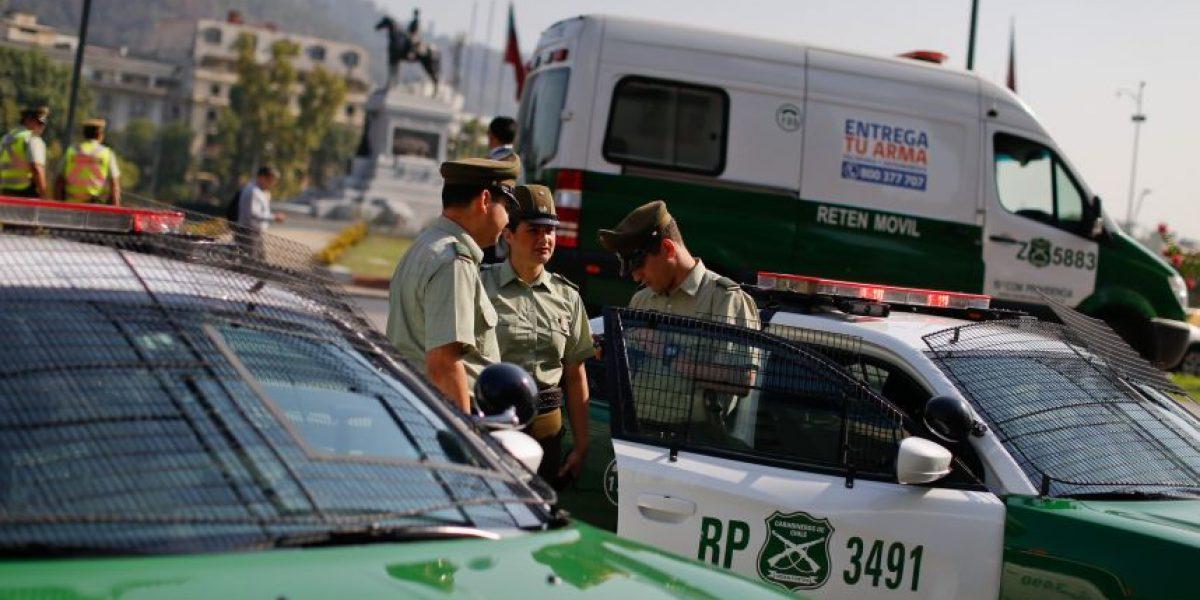 Carabineros recupera ocho vehículos con encargo por robo desde taller ilegal