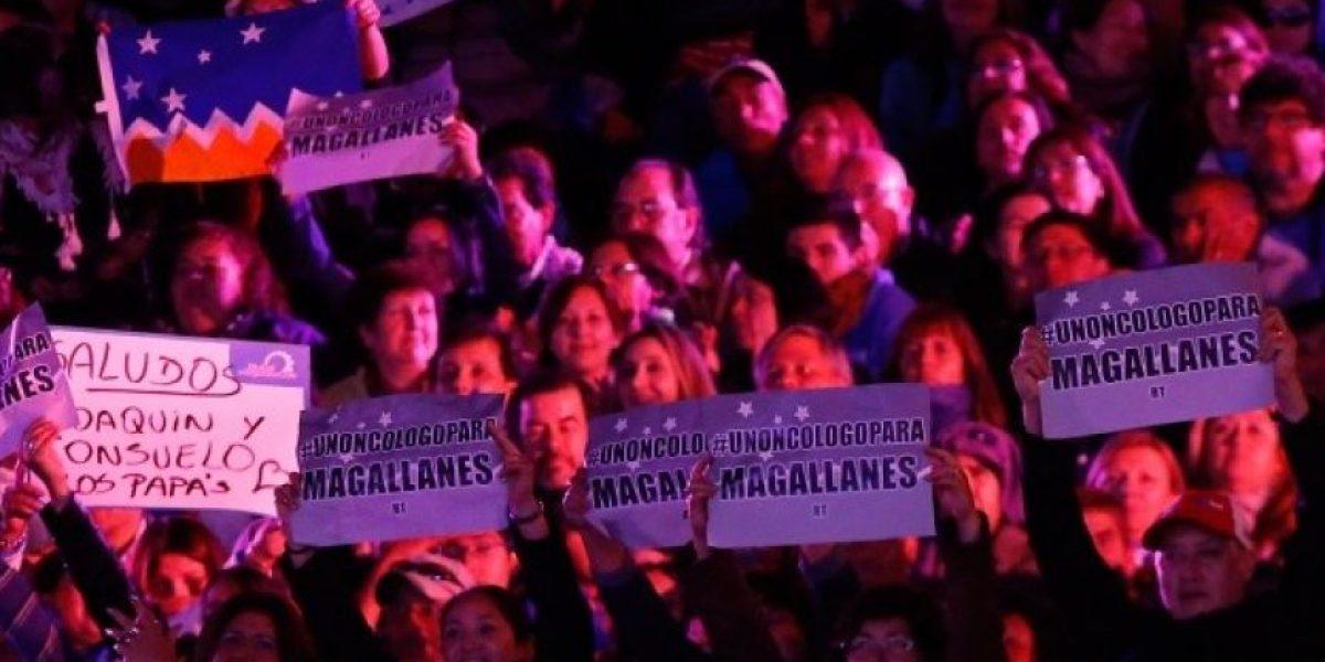 Oncólogo para Magallanes: el llamado de Pedro Ruminot durante su show en Viña 2016