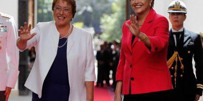 Presidenta Bachelet recibió en La Moneda a su homóloga Dilma Rousseff