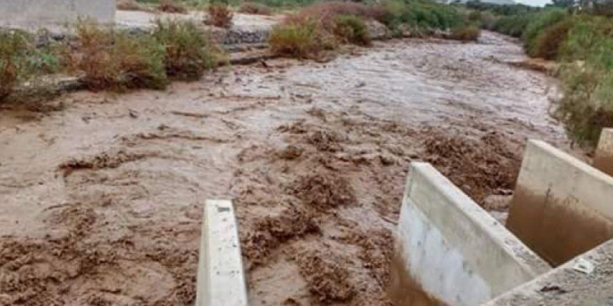 Arica: lluvias en el norte producen problemas en el suministro de agua potable