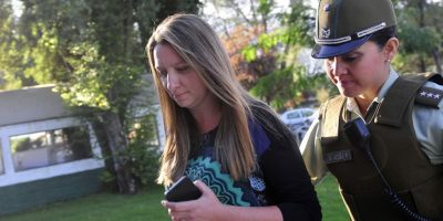 Natalia Compagnon cumple con su primera firma mensual tras formalización por caso Caval