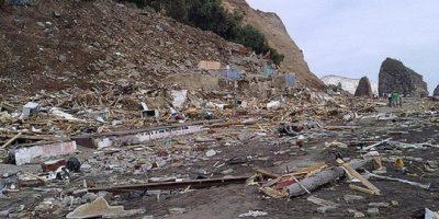 Mujer que perdió a dos hijas y a su nieta en el tsunami del 27F: