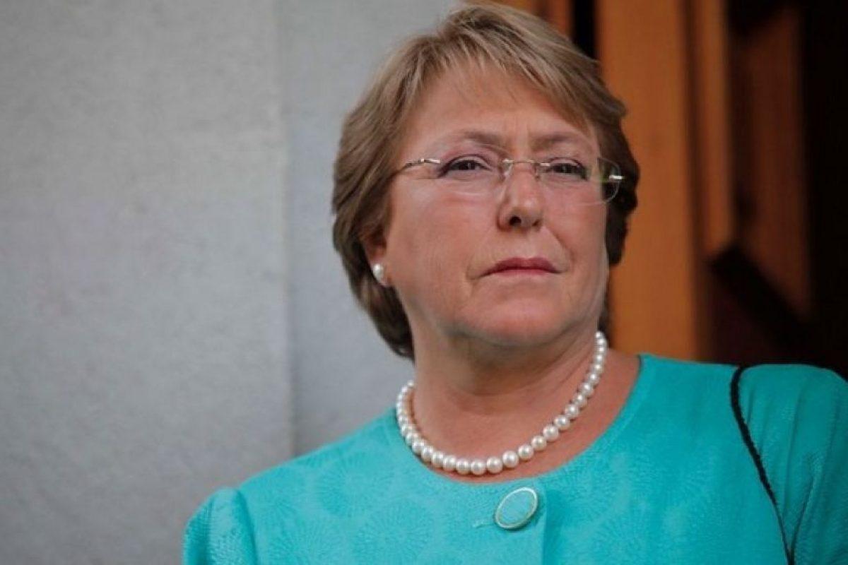 Presidenta Bachelet Foto:Agencia Uno. Imagen Por: