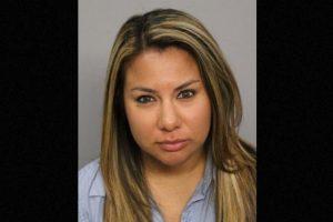 Tanya Ramírez, de 31 años: Se le reconoció en un video sexual por un tatuaje de 20 centímetros Foto: Nueces County Jail. Imagen Por: