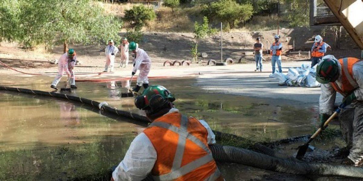 Codelco sigue monitoreo de aguas tras derrame de concentrado de cobre