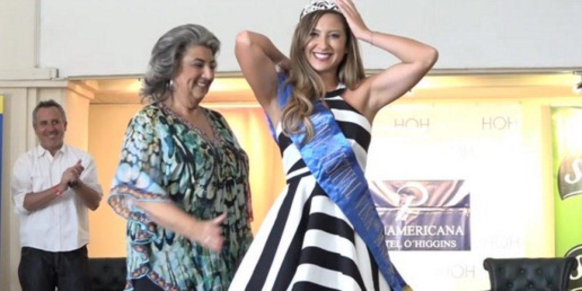 Luli cumplió su sueño y así fue coronada reina del Festival de Viña 2016