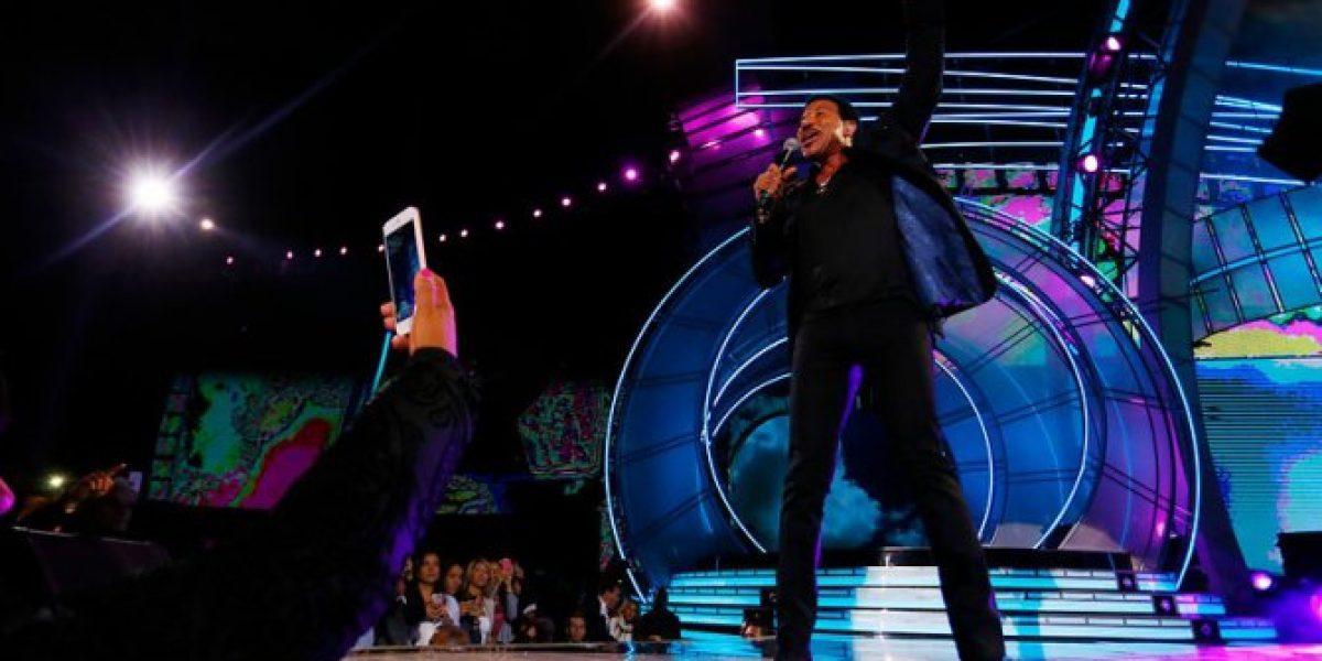 Lado B de Viña 2016: Lionel Richie y Rick Astley brillaron en noche ochentera