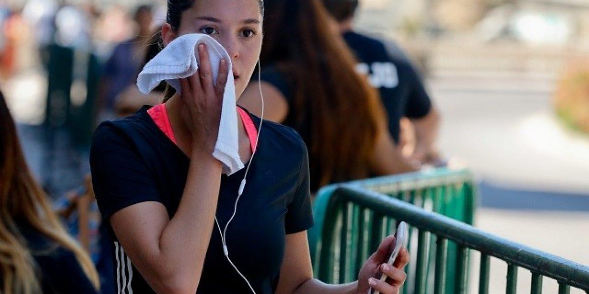 Fotos: Carolina Mestrovic disfruta de Viña del Mar haciendo deporte