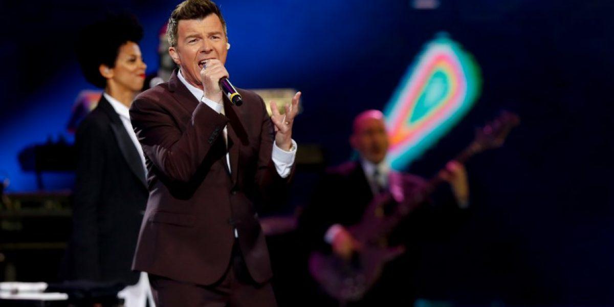 Rick Astley trajo todo el pop ochentero a Viña 2016