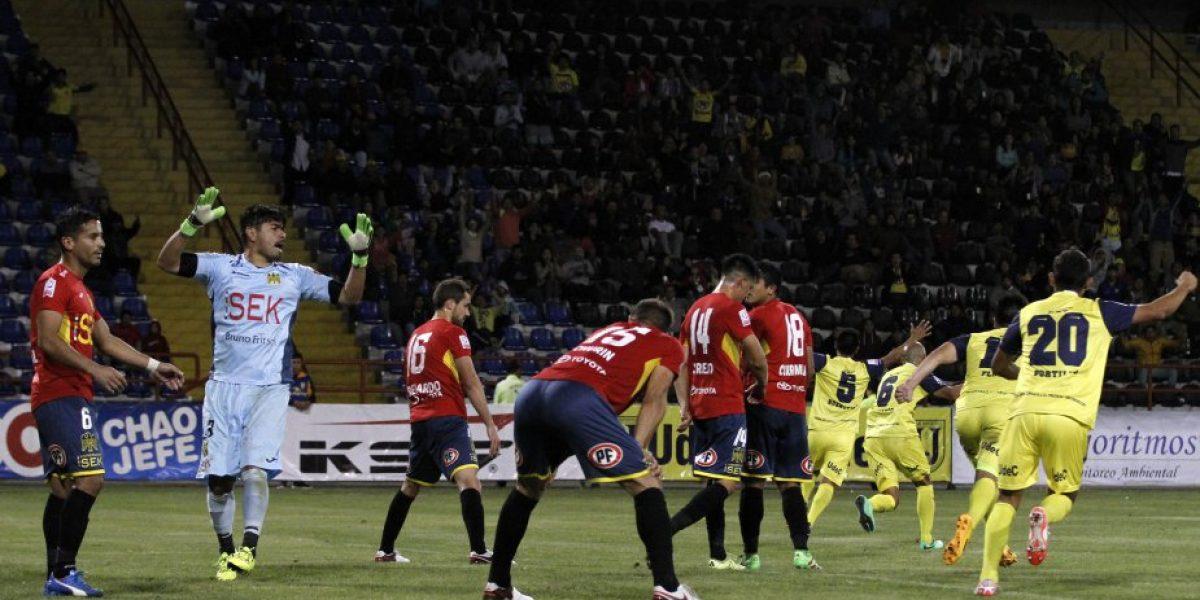 U de Conce sacó provecho de una noche para el olvido de Sánchez y celebró ante Unión