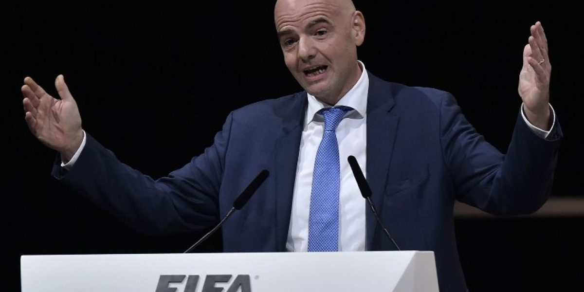 Gianni Infantino es elegido como el nuevo presidente de la FIFA