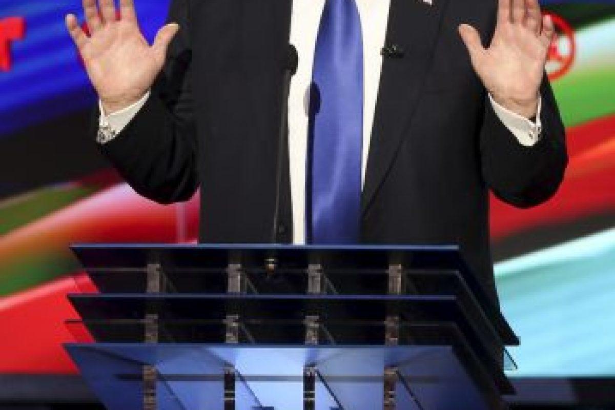 El debate fue transmitido por las cadenas CNN y Telemundo. Foto:AP. Imagen Por: