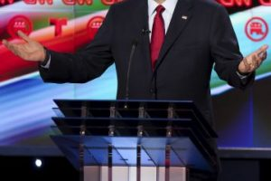 En esta ocasión los políticos se enfrentaron en Texas. Foto:AP. Imagen Por: