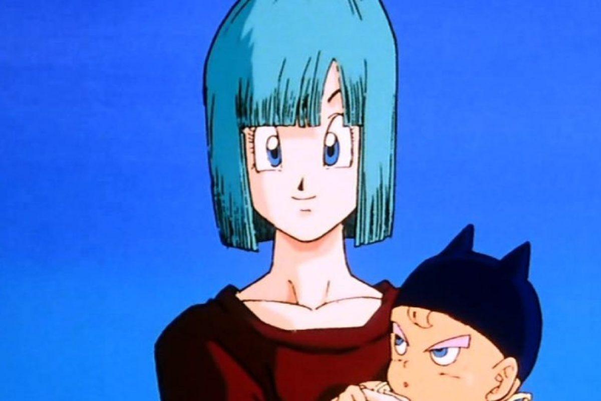 Bulma, el personaje femenino más importante de la serie. Rica por la compañía de su familia, Capsule Corp. Es una genio científico. Foto:Toei. Imagen Por: