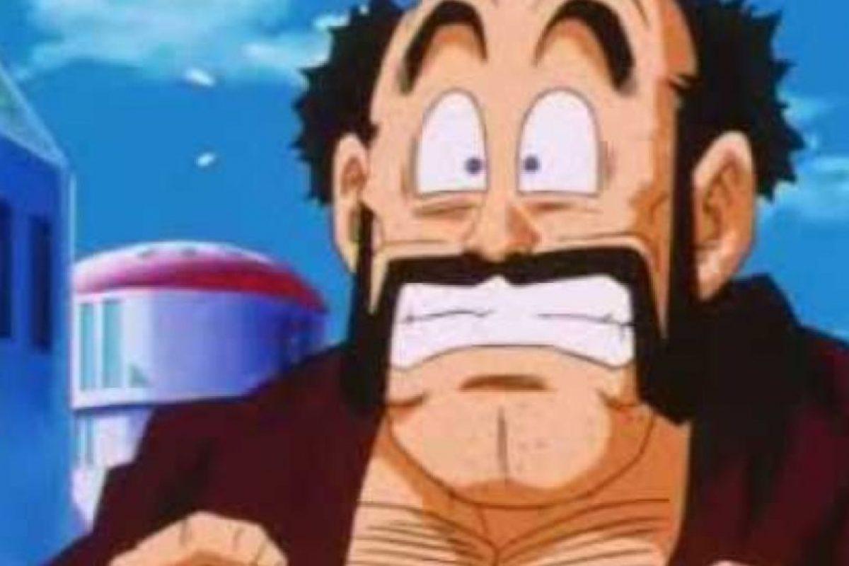 Mr. Satán es un popular luchador en la Tierra. Posó como el vencedor de Cell, pero convenció a los terrícolas de ayudar a Gokú con su Genki-Dama para derrotar a Majin Boo. Lo logró por ser tan querido y famoso. Foto:Toei. Imagen Por: