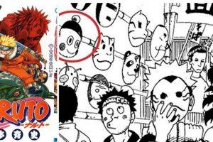 La cara de Chaos aparece en una tira de Naruto. Foto:Shonen Jump.. Imagen Por: